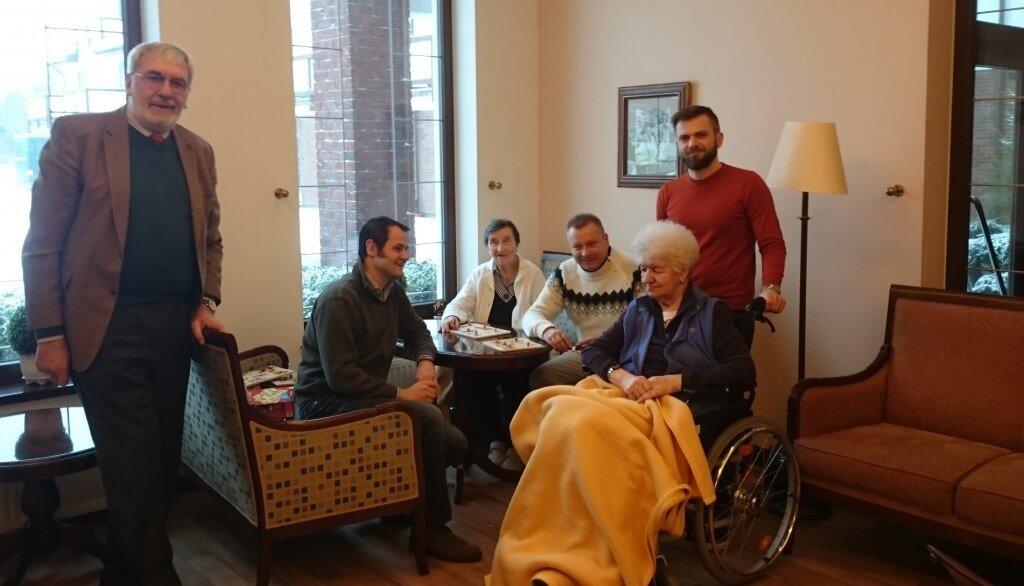 Besuch im Pflegeheim Polen