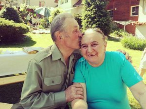 Glück im ausländischem Pflegeheim