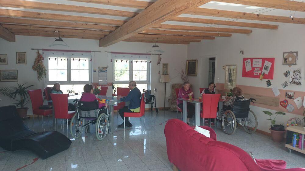 Senioren im tschechischem Pflegeheim