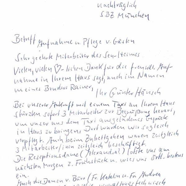 Kundenstimme Pflegeheim Ungarn 1